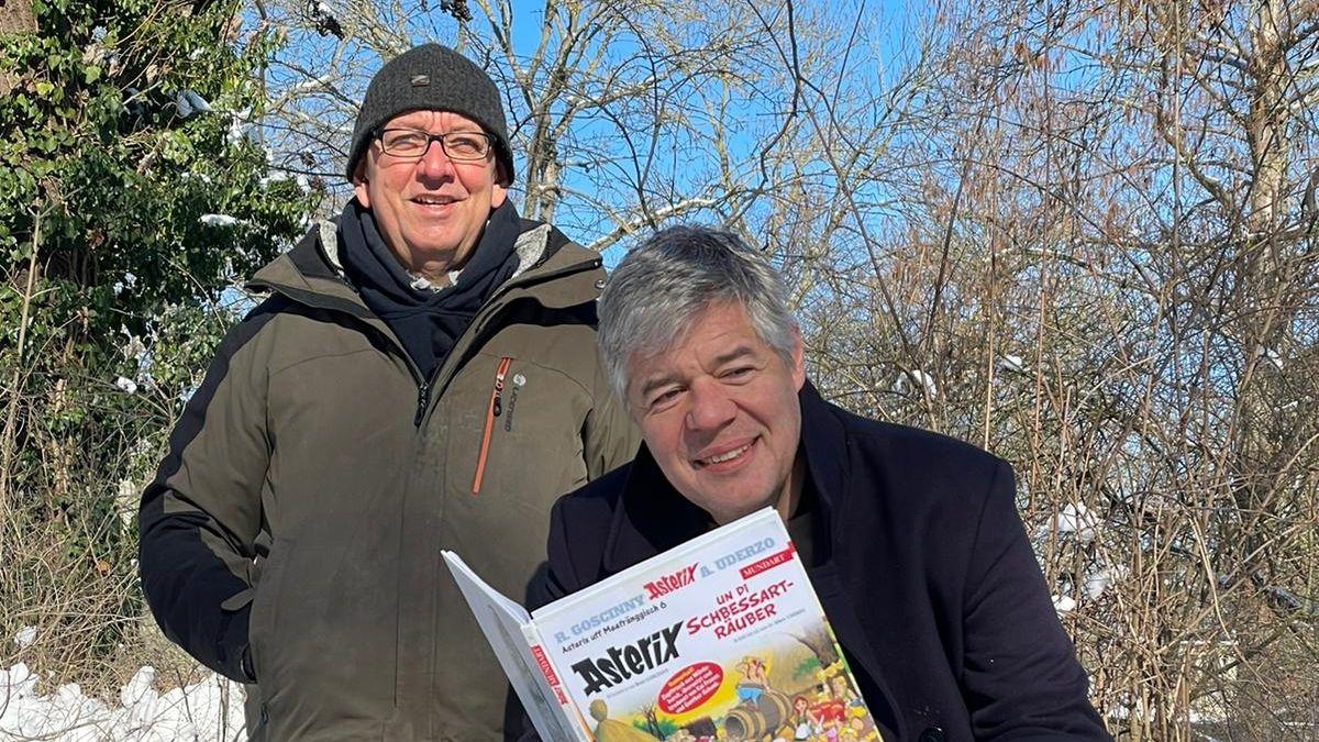 """""""Asterix uff Meefränggisch"""" – Sechster Band mit Markus Söder"""