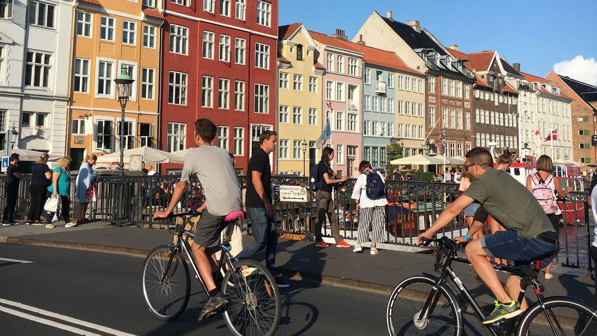 Radeln in Kopenhagen
