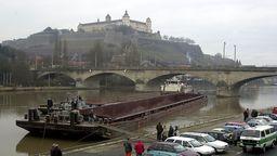 Stadt Würzburg plant Radwegbrücken an der Löwenbrücke | Bild:dpa Picture-Alliance