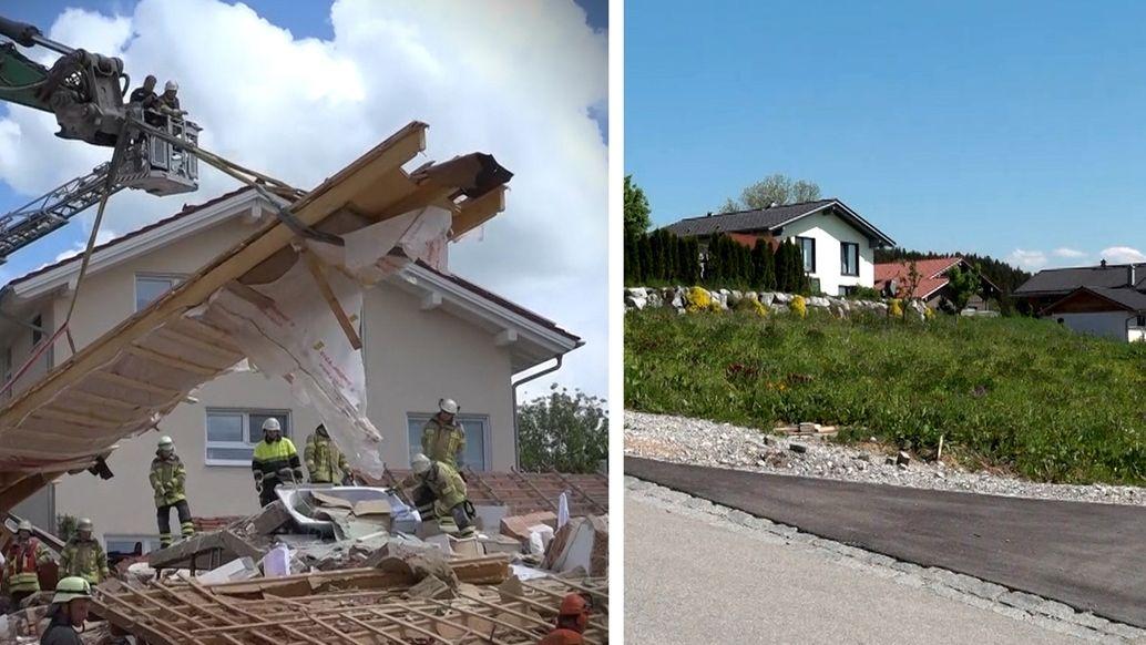 Ein Jahr nach der Hausexplosion in Rettenbach