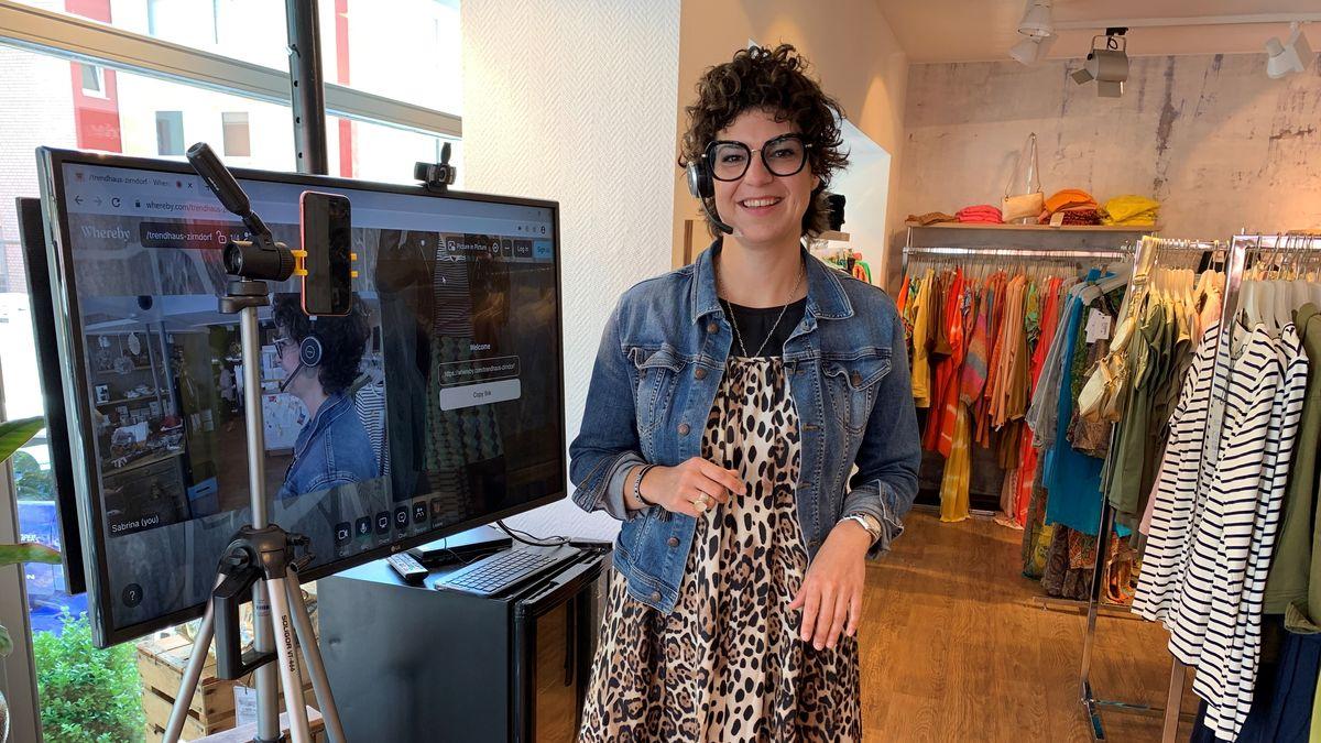 Trendhaus-Inhaberin Sabrina Zehmeister hat mit Shopping-Online-Dates neue Kunden während des Lockdowns gewinnen können.