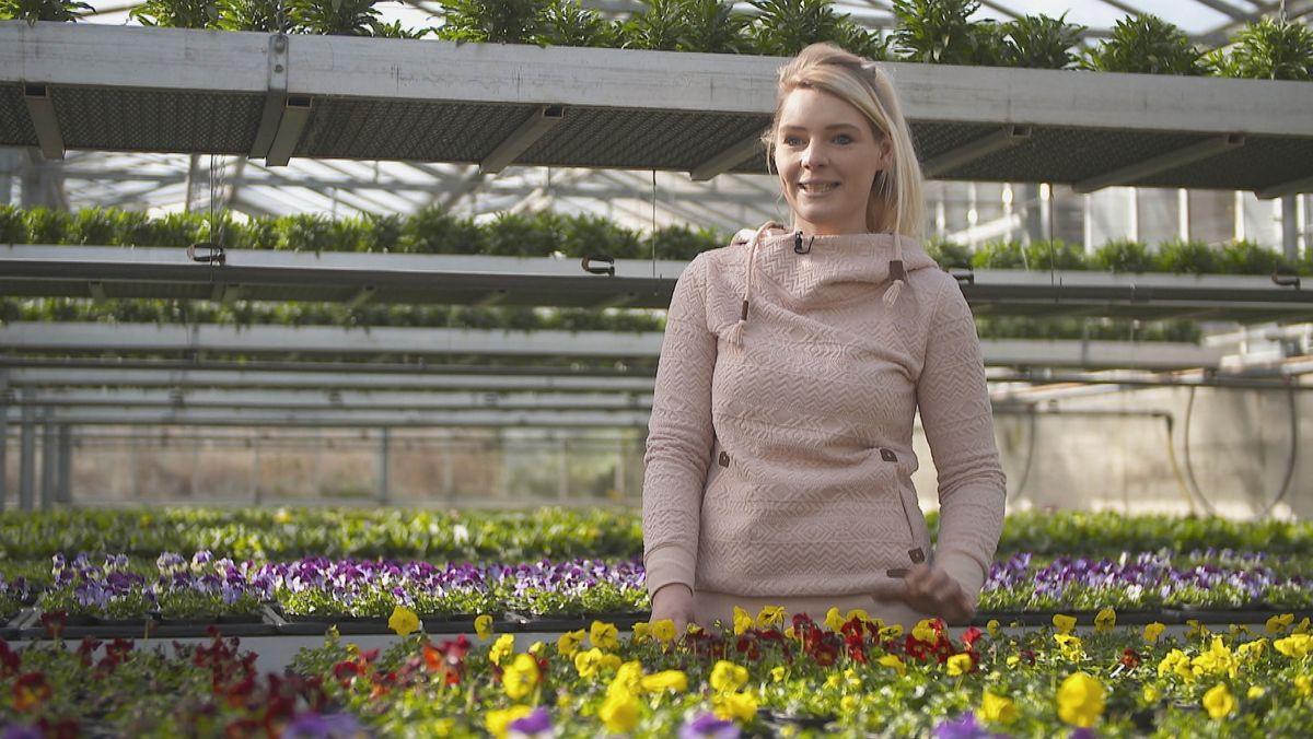 Anna-Lena Wiedow, Gärtner- und Floristmeisterin