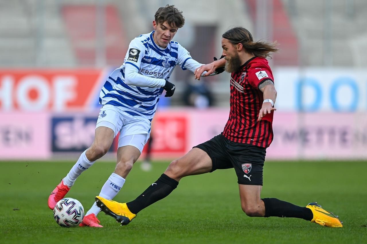 Spielszene MSV Duisburg - FC Ingolstadt