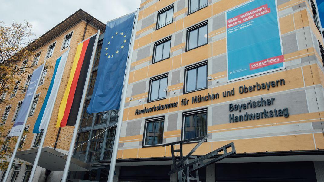 Sitz des bayerischen Handwerkstages in München