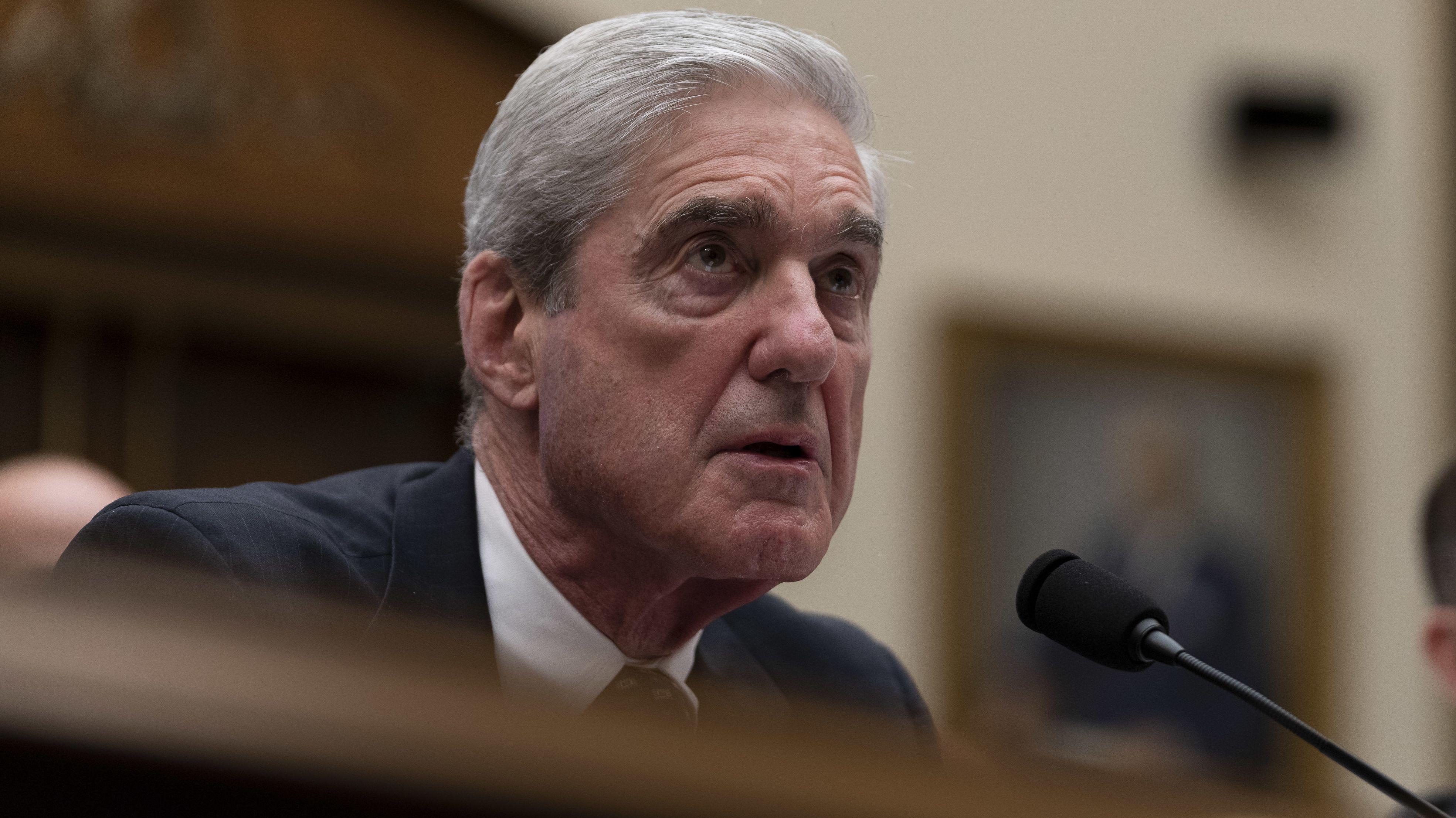 Sonderermittler Robert Mueller bei seiner Anhörung vor dem Kongress am 24. Juli 2019 (Archivbild)
