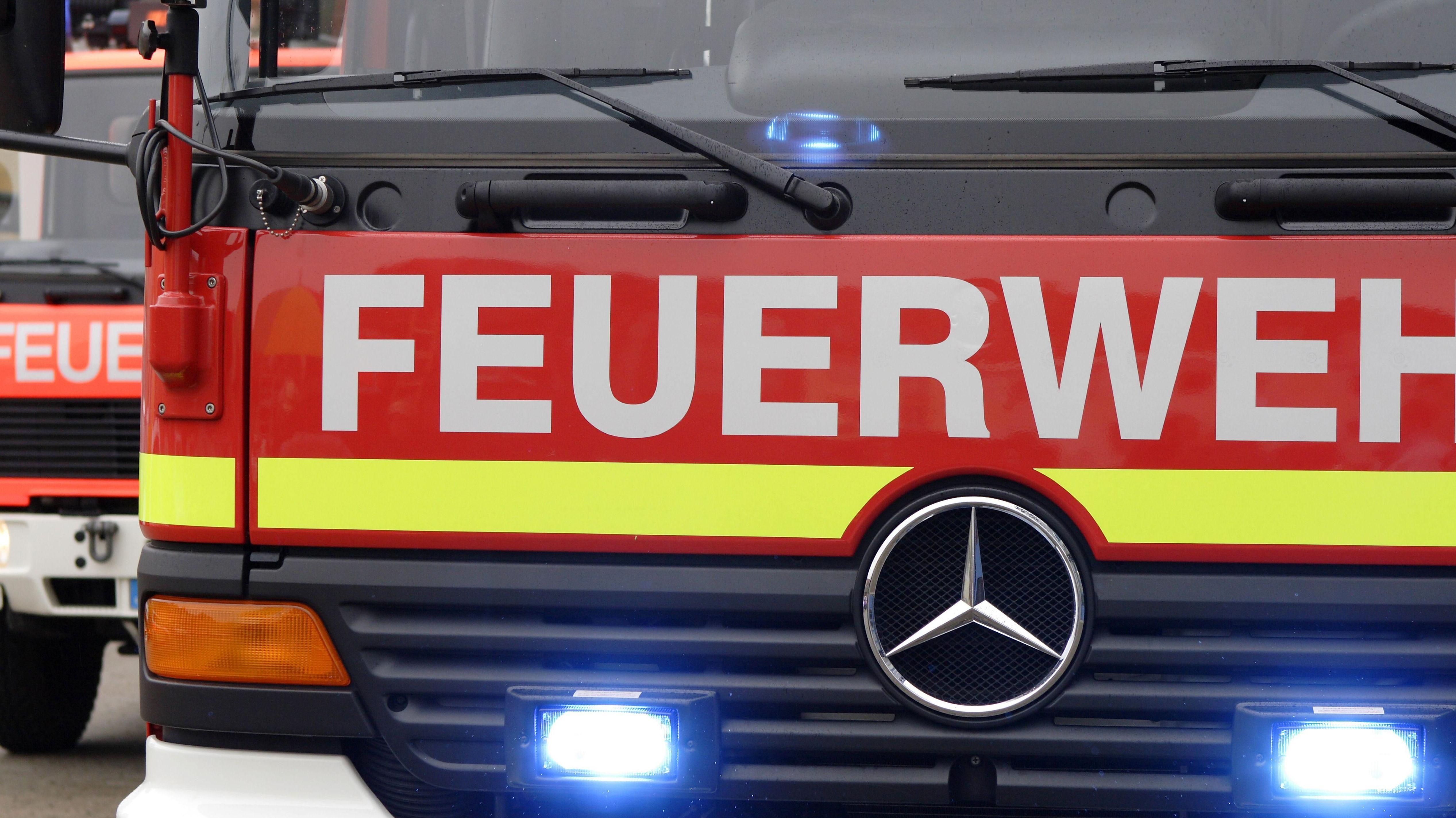Feuerwehr im Einsatz (Symbolfoto)