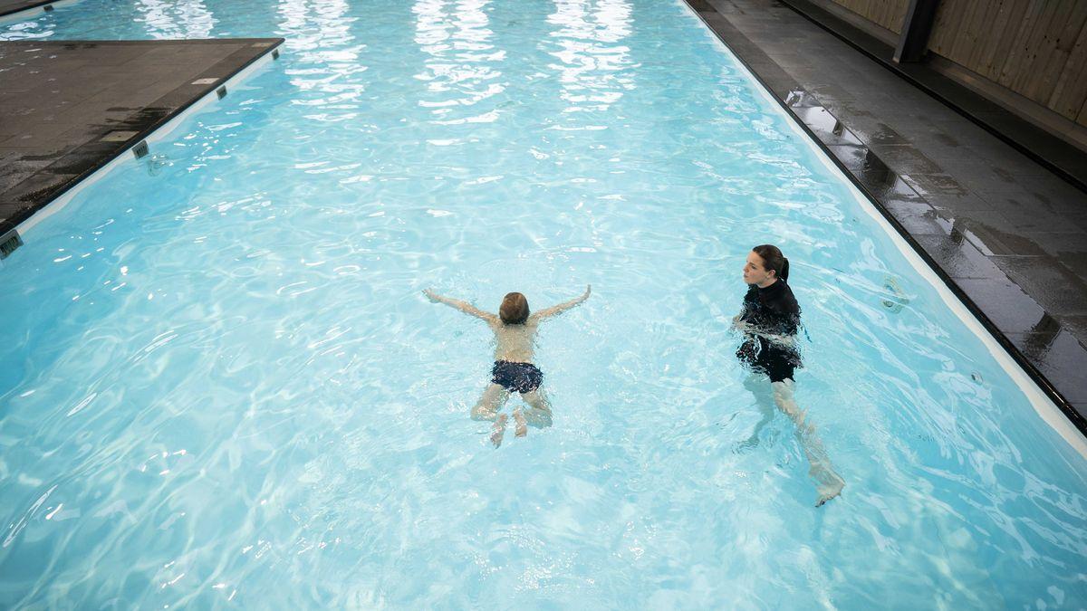 Schwimmunterricht (Symbolbild).