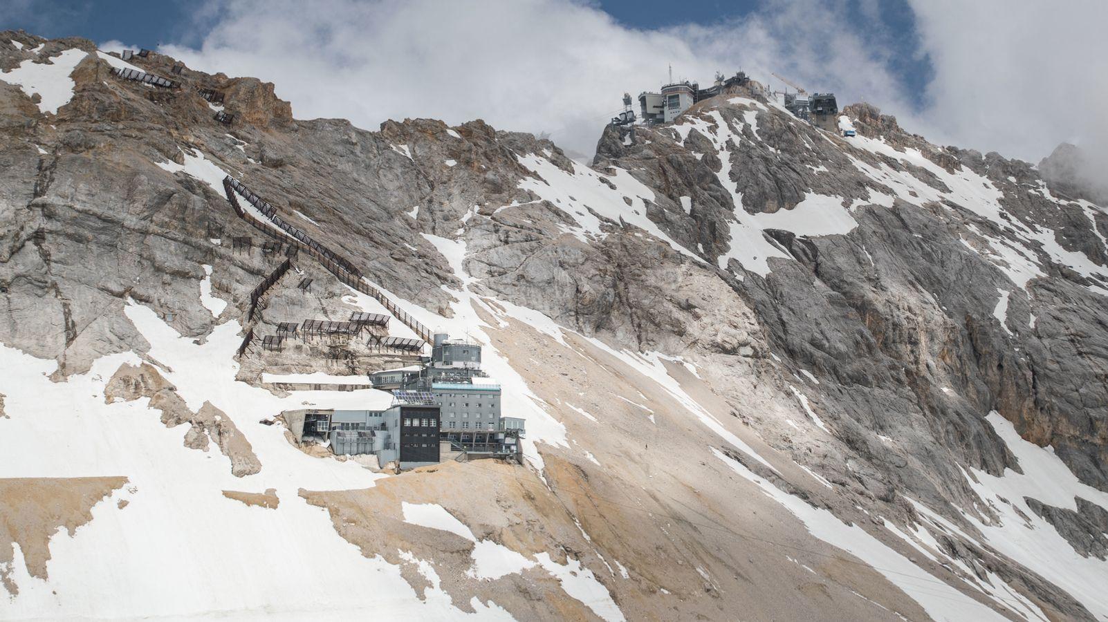 Die Alpen sind belastet mit giftigen Schadstoffen