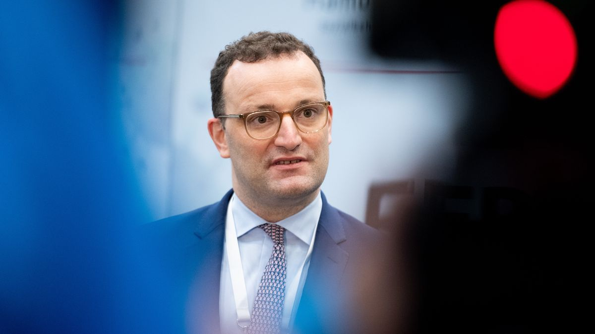 Jens Spahn (CDU), Bundesminister für Gesundheit.
