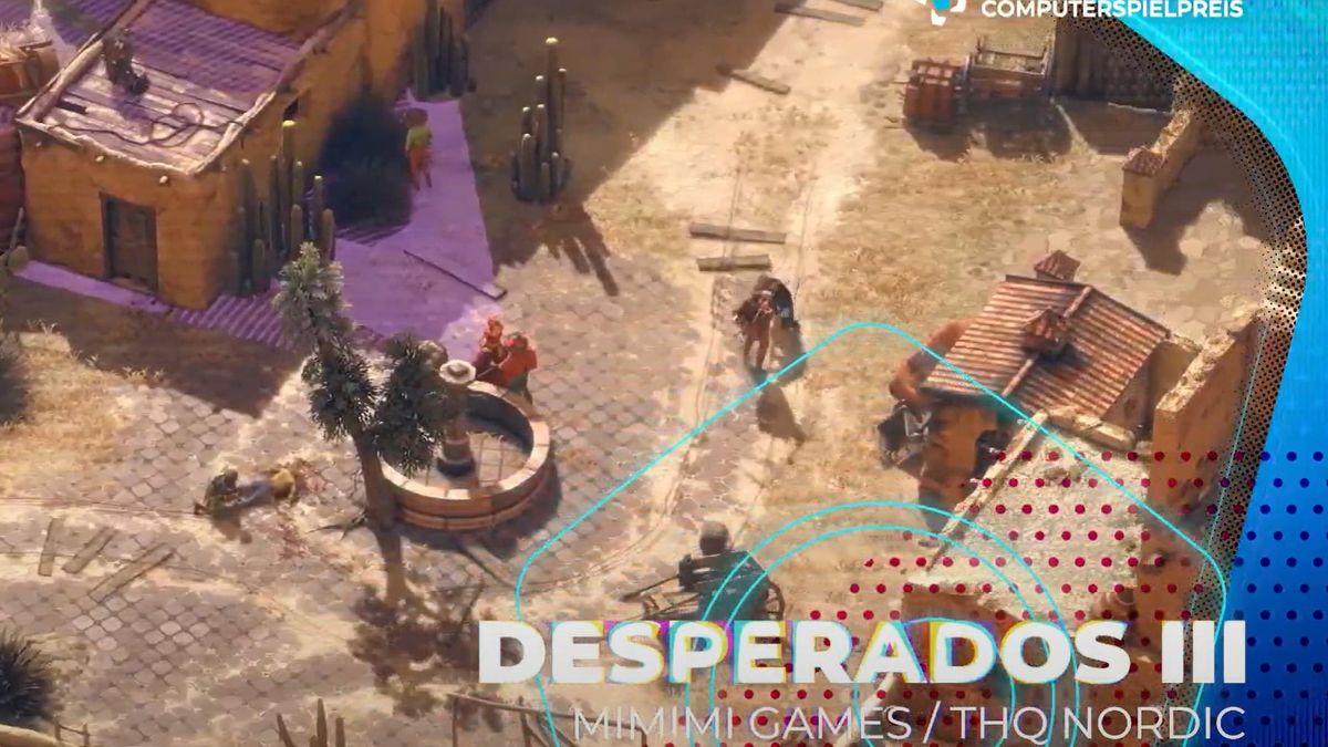 Screenoshot aus dem Spiel Desperados III
