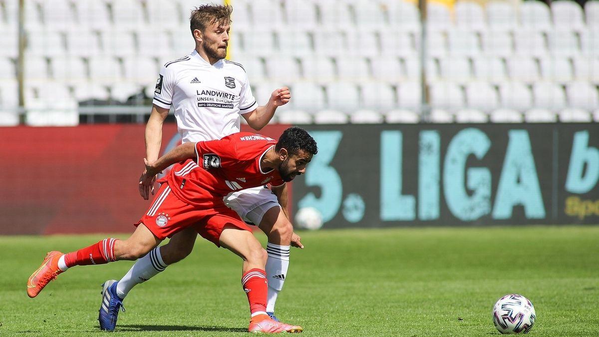 FC Bayern II - SpVgg Unterhaching
