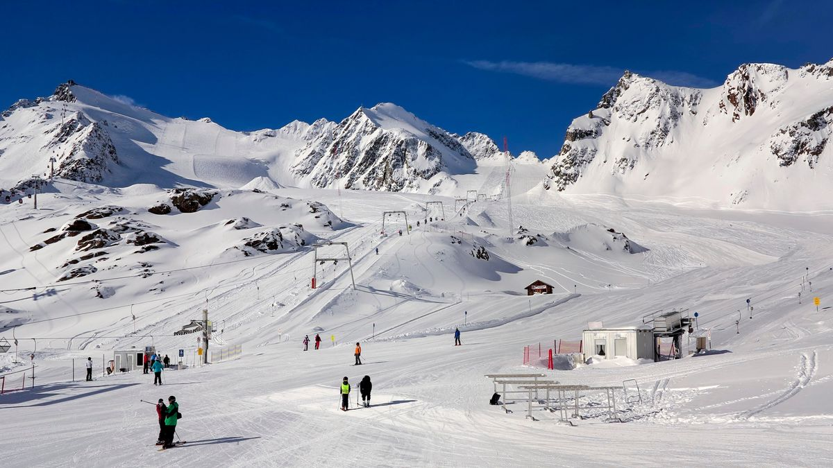 Österreich, Pitztaler Gletscher