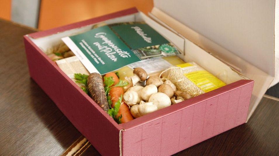 Kulinarisches Angebot - ökologisch verpackt