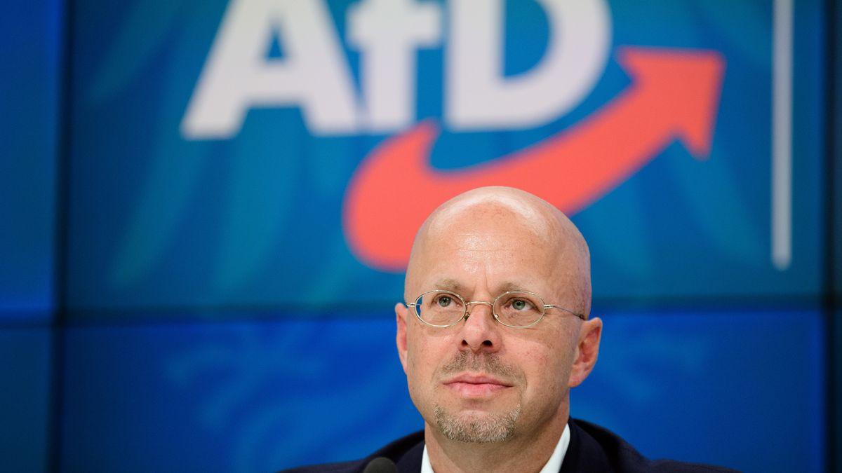Der ehemalige Vorsitzende der AfD in Brandenburg: Andreas Kalbitz.