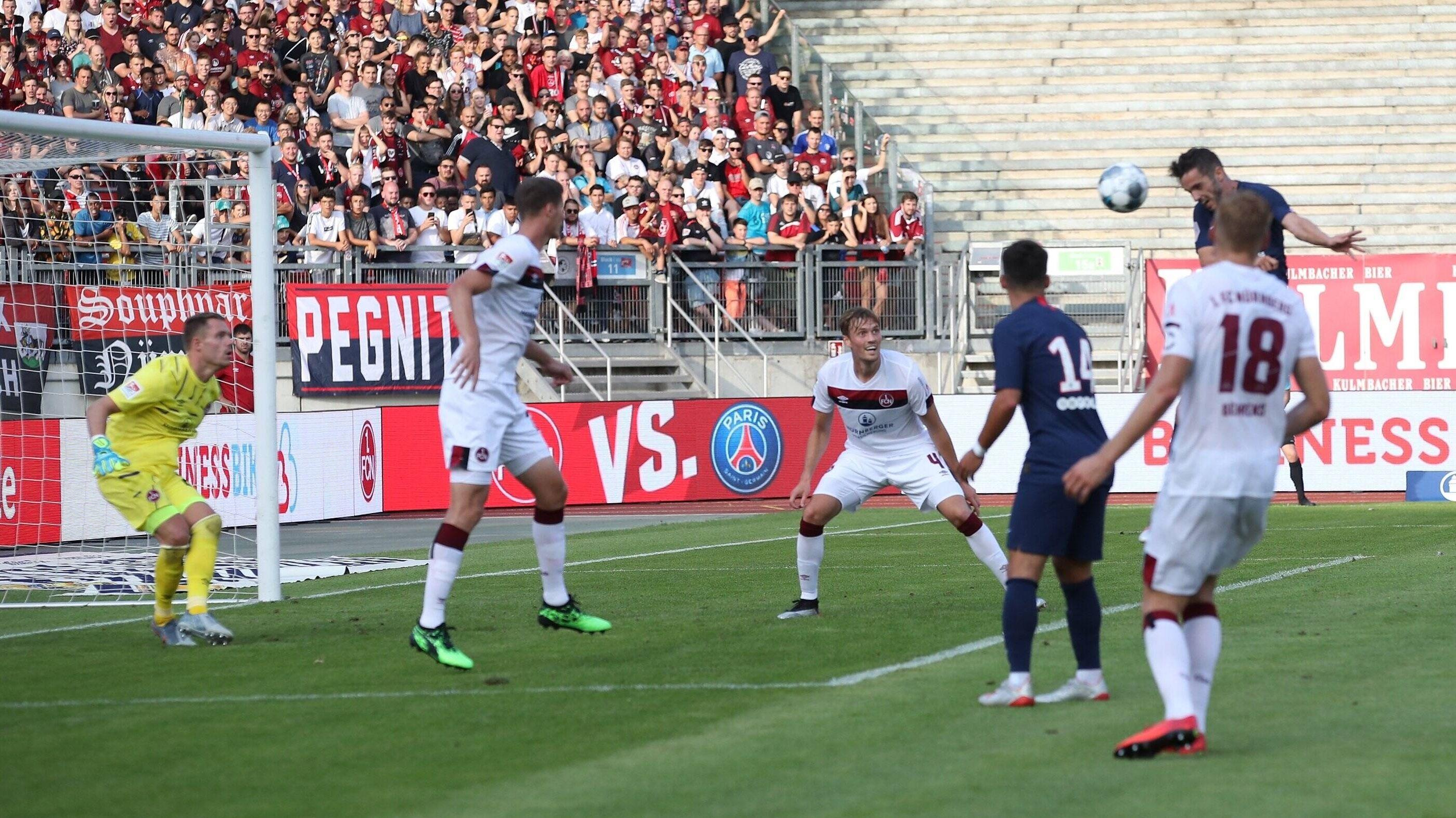 Das 1:0 für Paris gegen Nürnberg