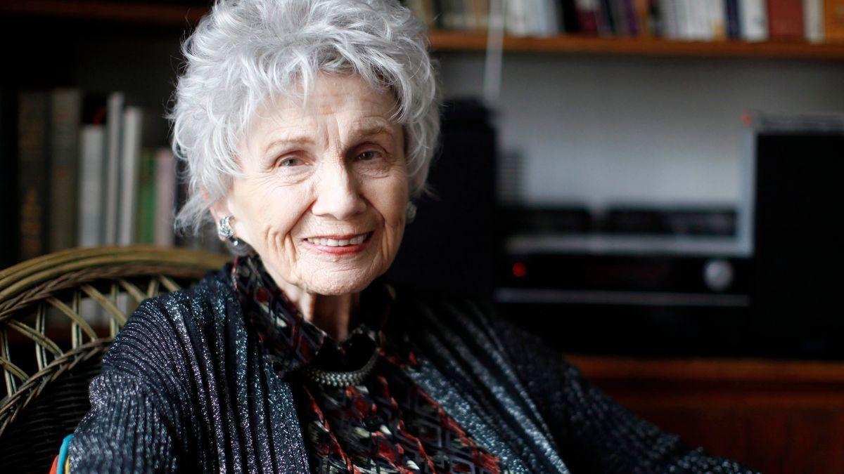 Porträt der kanadischen Schriftstellerin Alice Munro