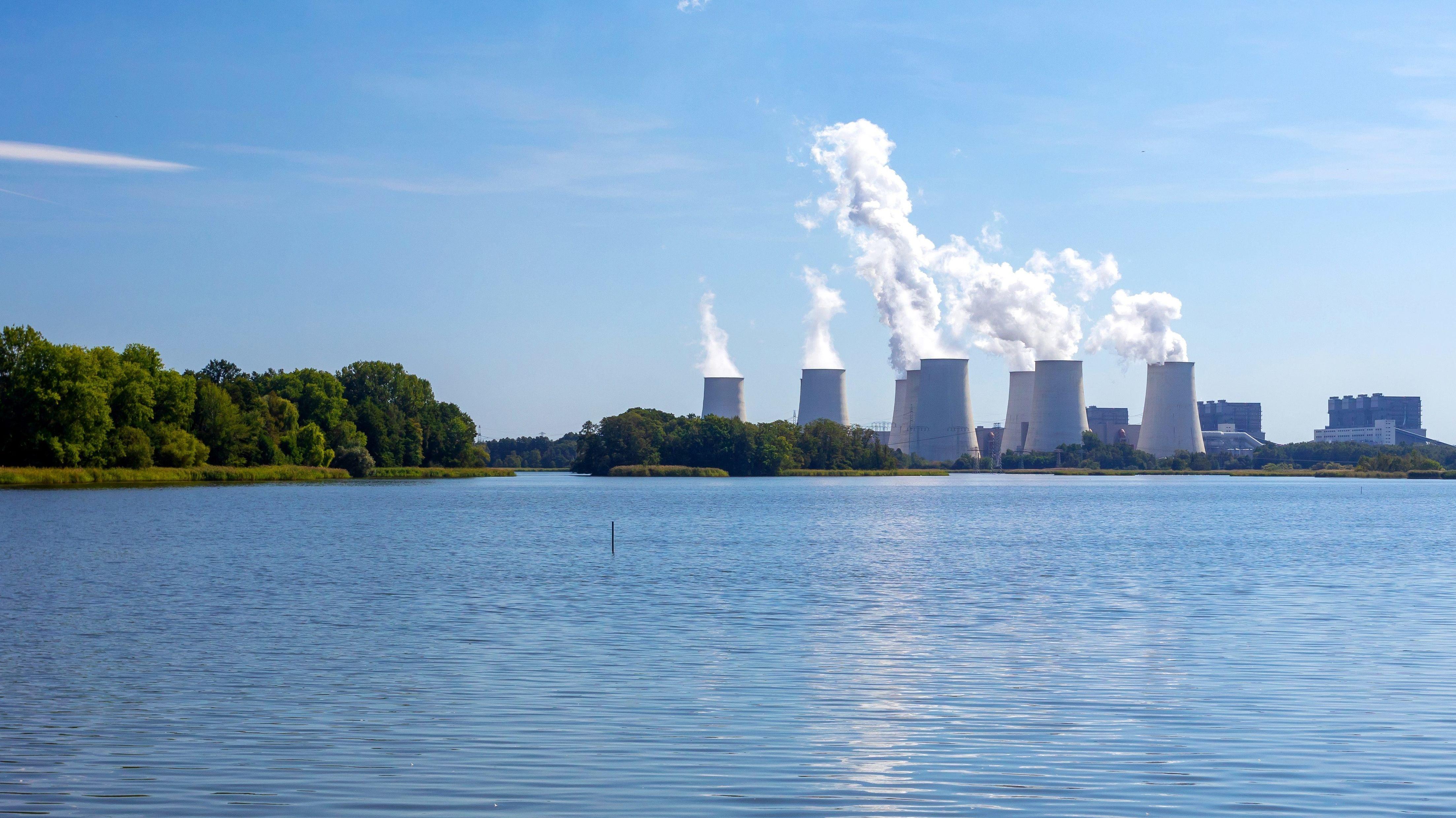 Ein Braunkohlekraftwerk - ein klassischer CO2-Verursacher