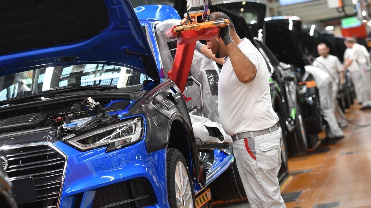 Audi-Produktion in Deutschland