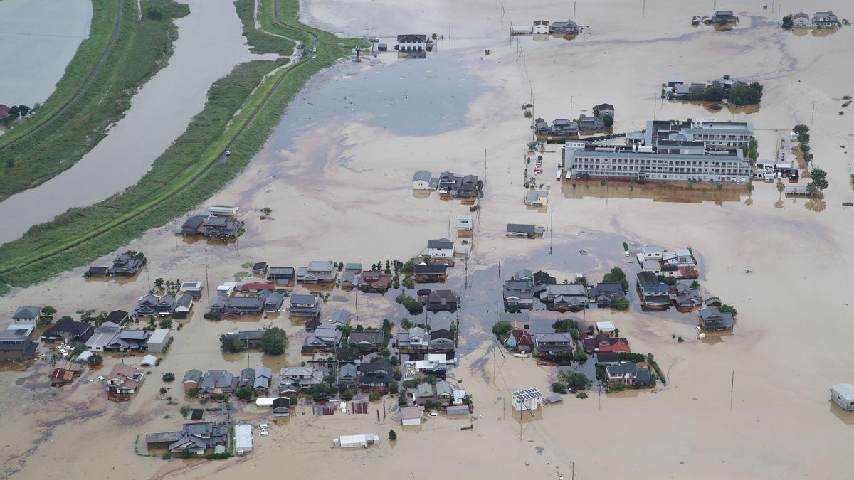 Hochwasser in Japan