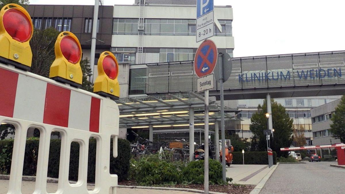 Das Klinikum Weiden muss nicht evakuiert werden.