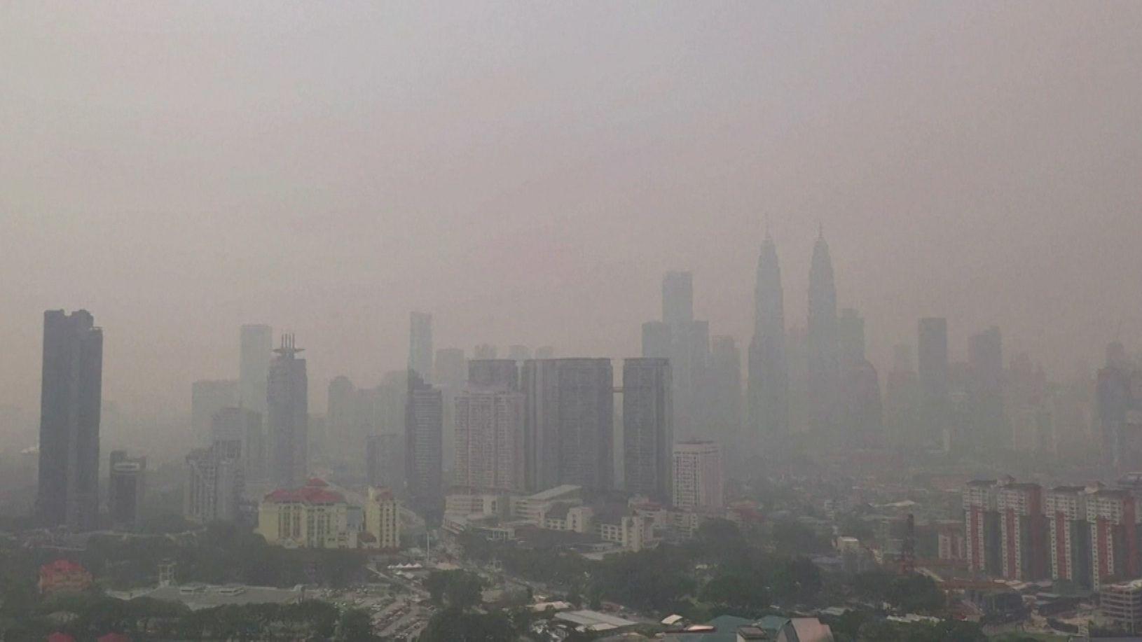 Giftiger Smog hüllt Malaysia ein
