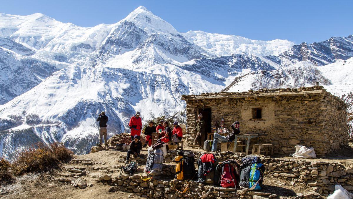 Gestochen scharf: Himalaya.