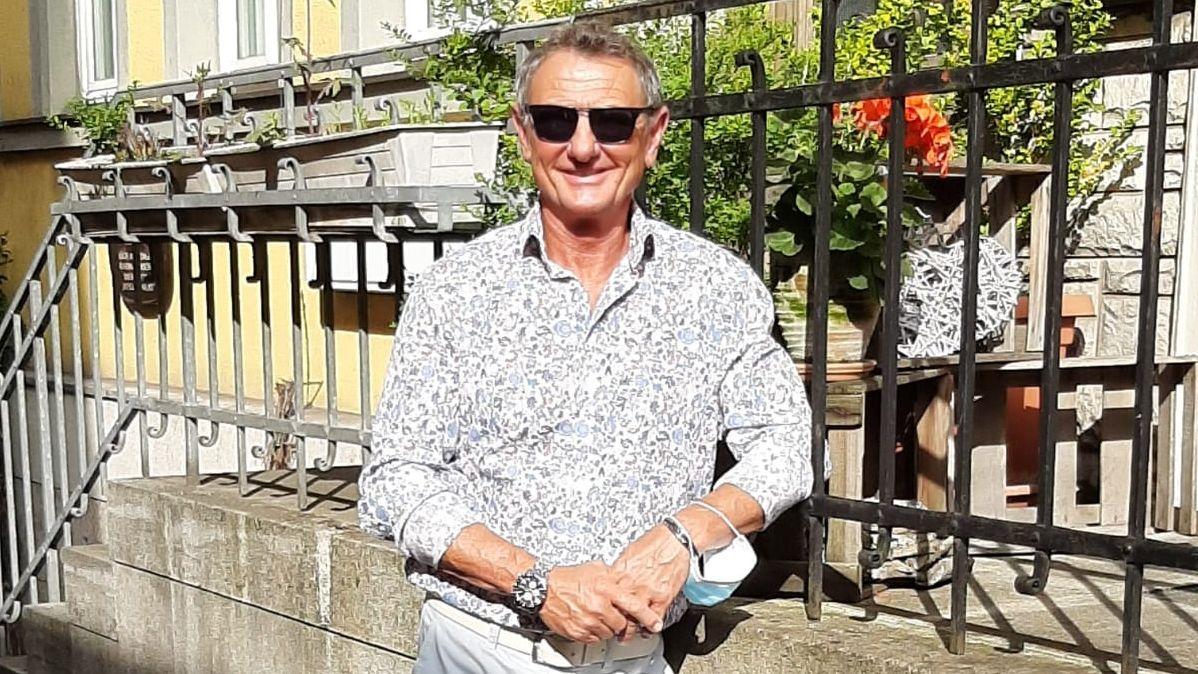 Der ehemalige Profi-Fußballer Uwe Büchel lebt noch heute in Schweinfurt