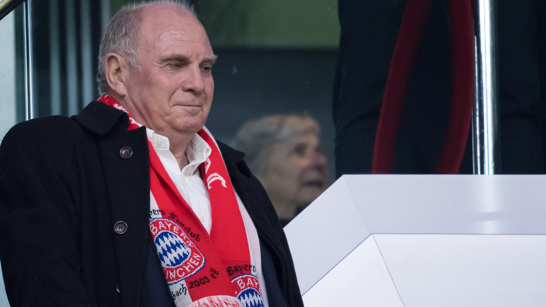 FCB-Präsident Uli Hoeneß