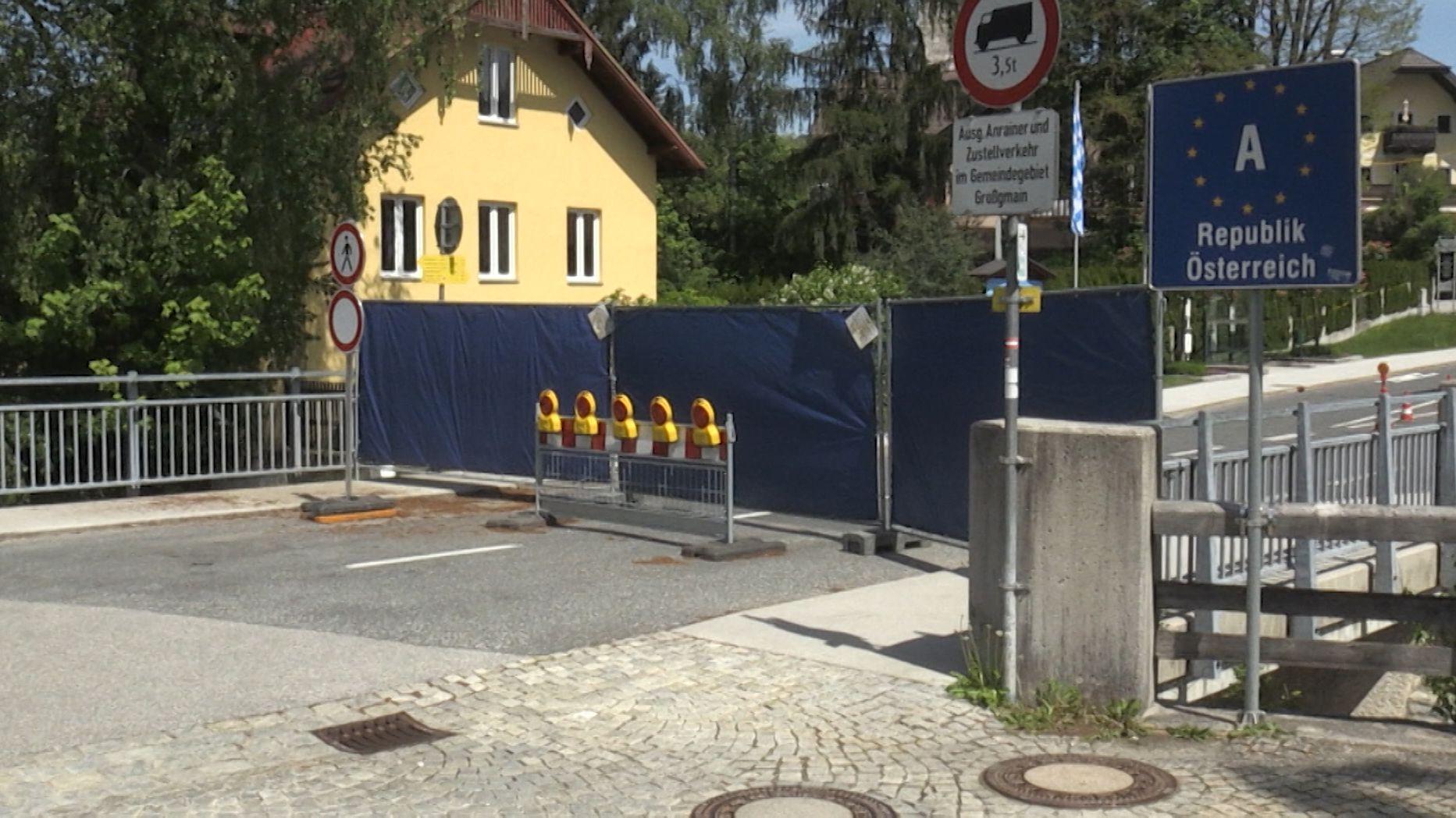 In Bayerisch Gmain haben Bürger eine Online-Petition gestartet. Sie fordern die sofortige Grenzöffnung zum Nachbarort Großgmain in Österreich.