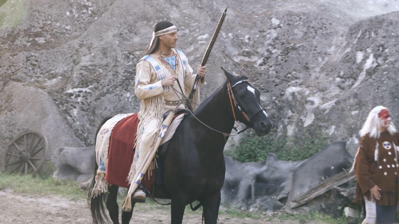 Winnetou reitet wieder - auf der Freilichtbühne in Dasing