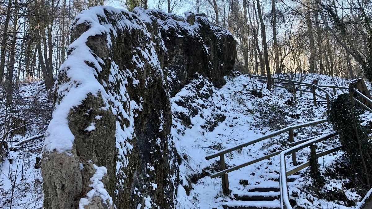 Der wachsende Felsen von Usterling