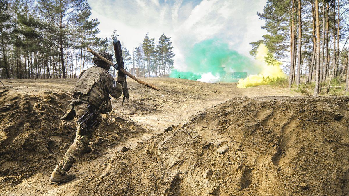 US-Truppenübung bei Grafenwöhr