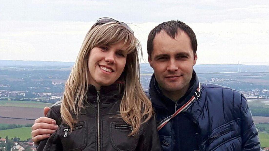 Kateryna Borysevych und Andrii Borysevych