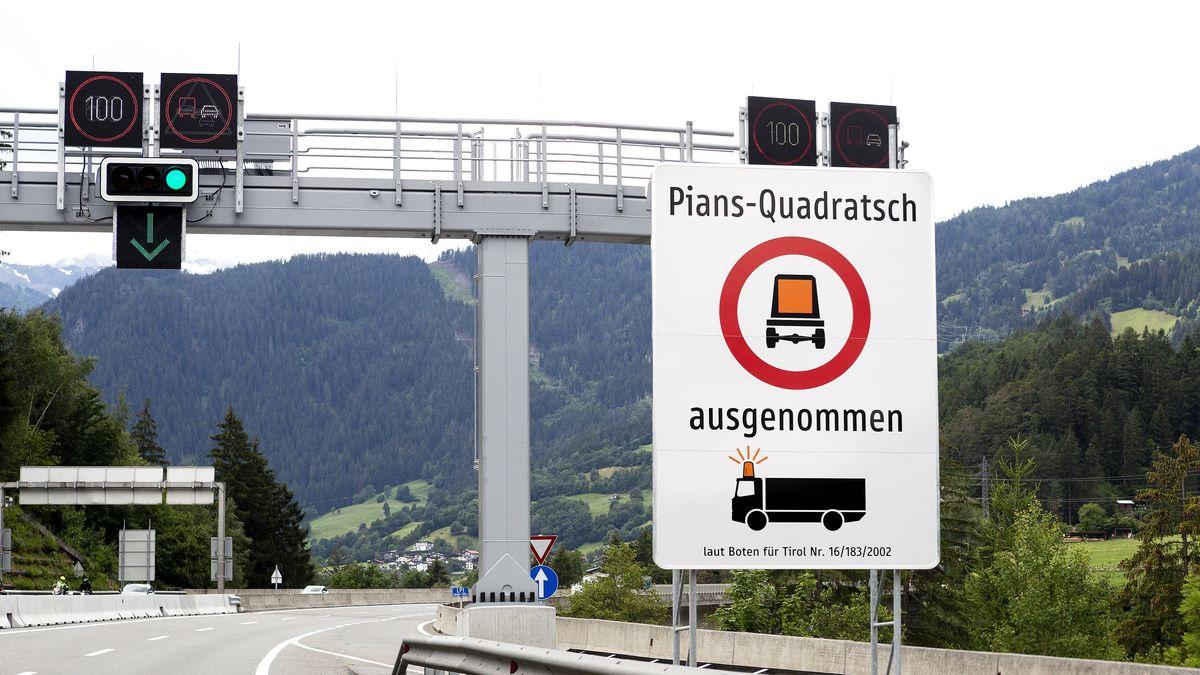 Regionale Fahrverbote in Tirol