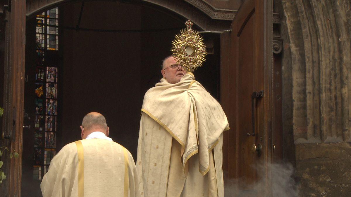 Kardinal Reinhard Marx beim Fronleichnams-Gottesdienst