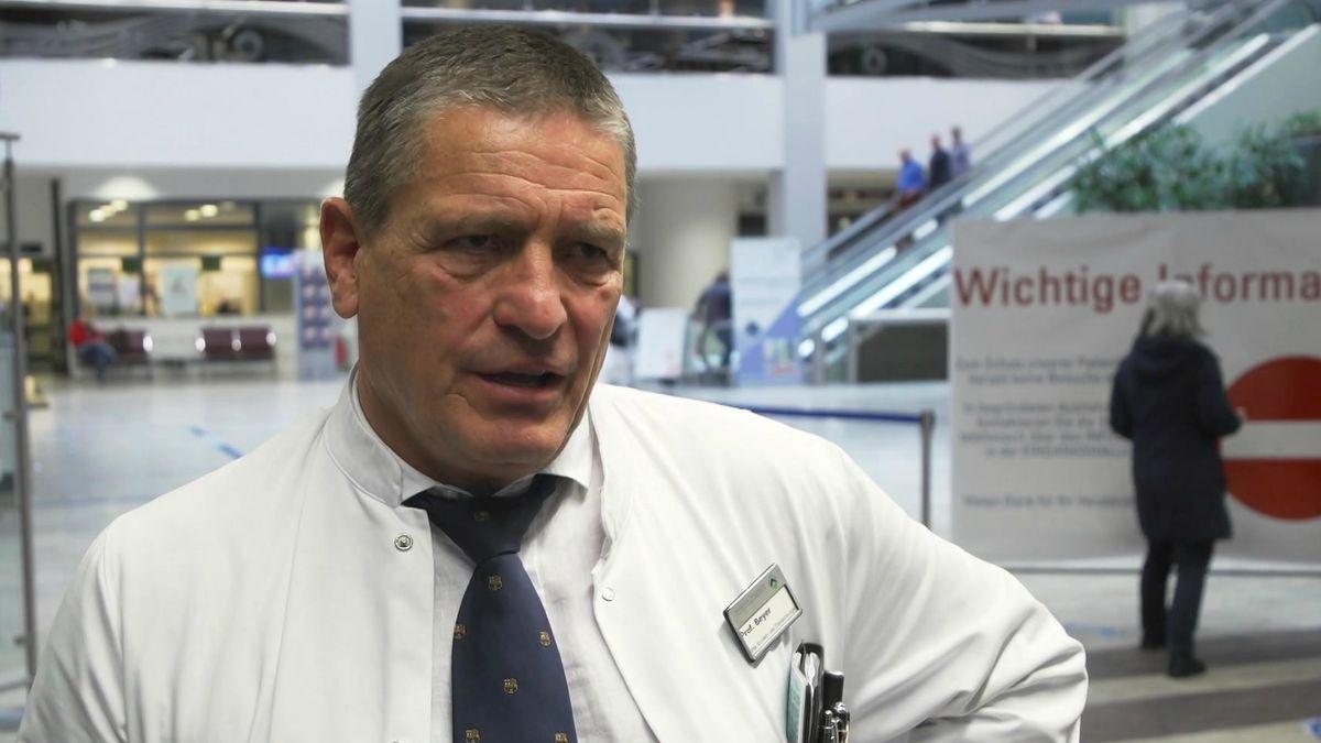 Prof. Michael Beyer, Direktor der Klinik für Herz- und Thoraxchirurgie am Uniklinikum in Augsburg