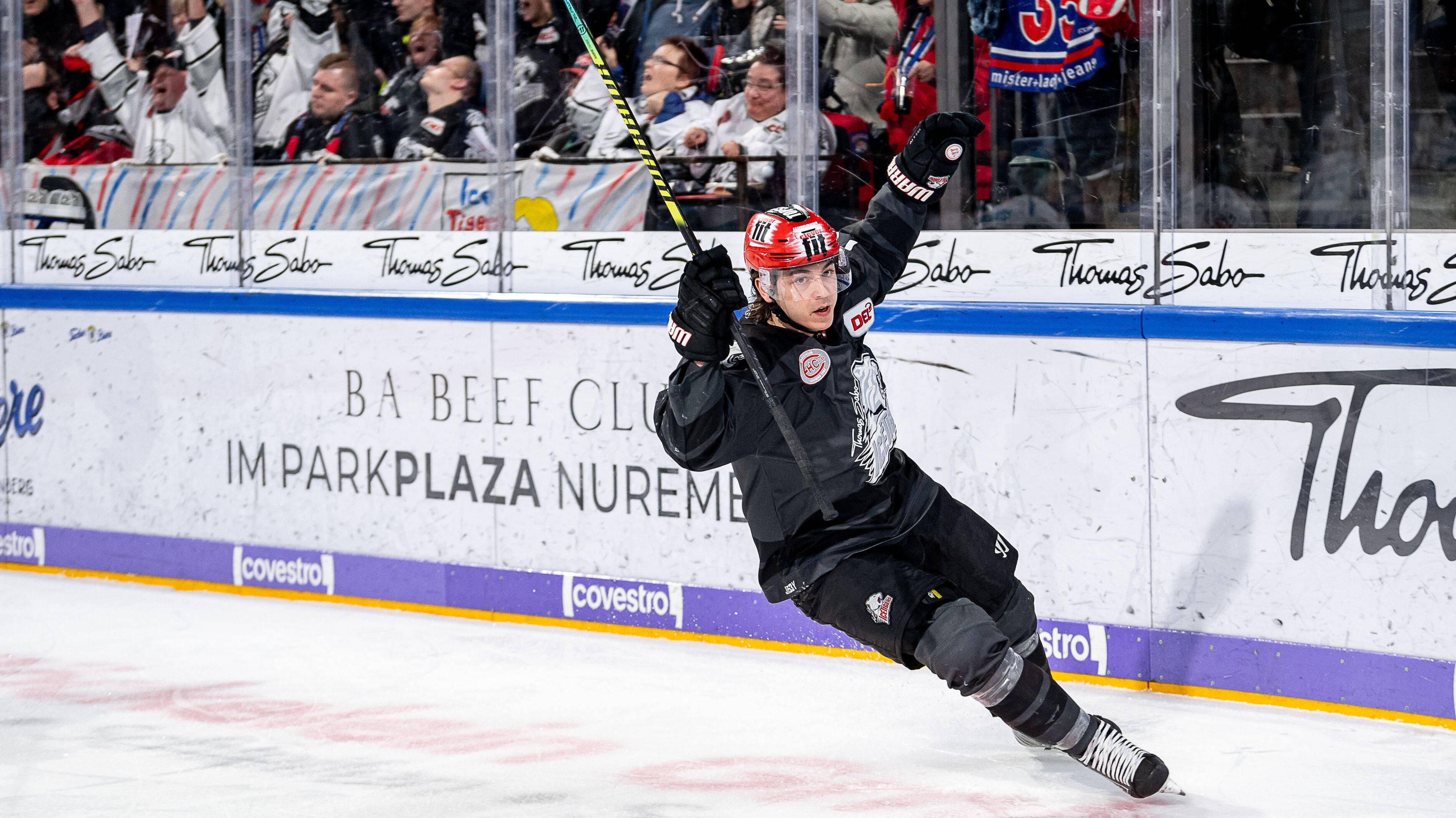 Jubel bei den Nürnberg Ice Tigers