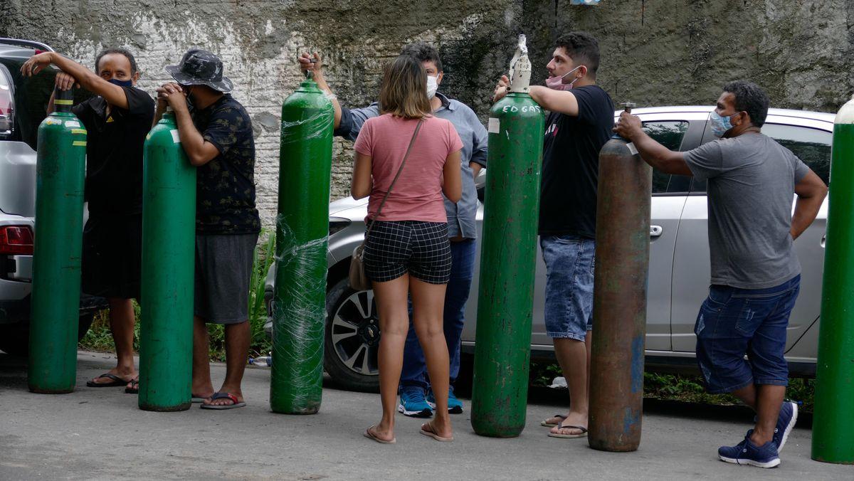 Corona-Krise in Brasilien: In Manaus fehlt der Sauerstoff