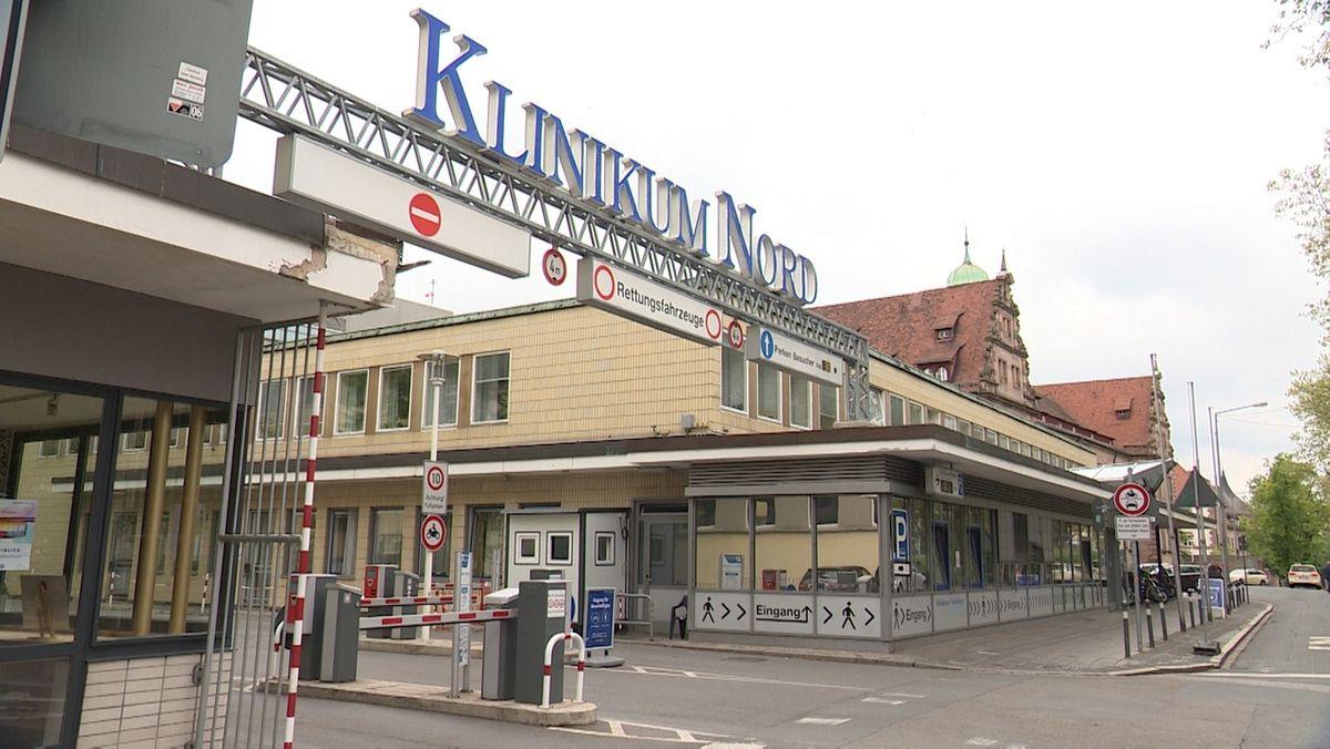 Eingang Klinikum Nord in Nürnberg