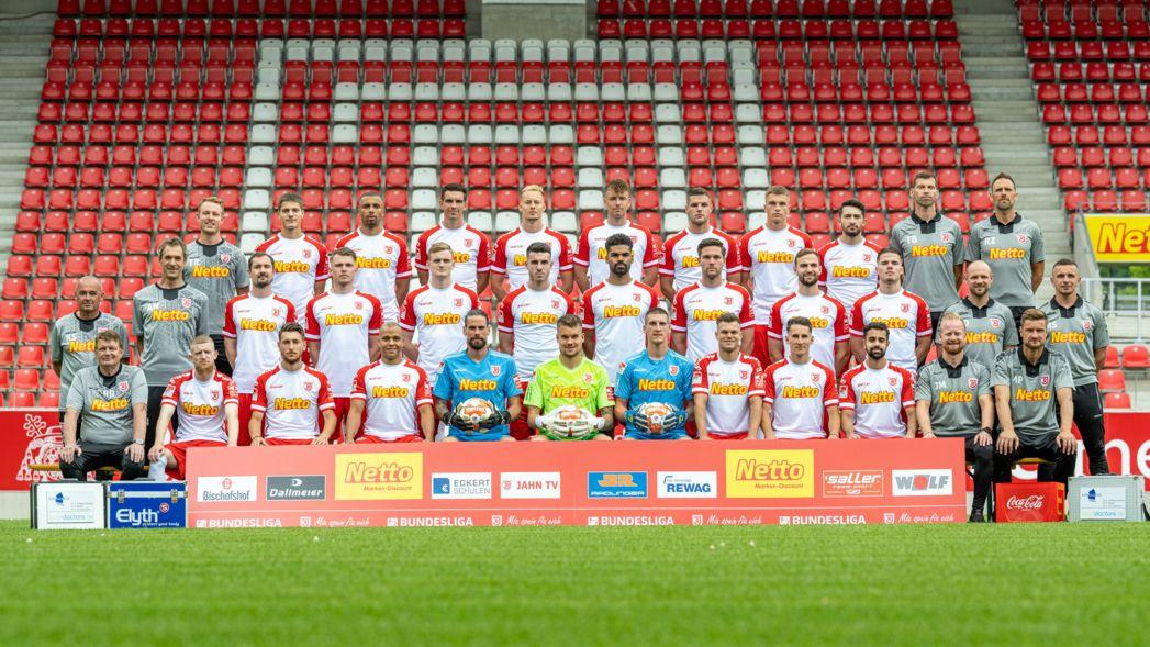 Der Kader des SSV Jahn Regensburg für die neue Saison