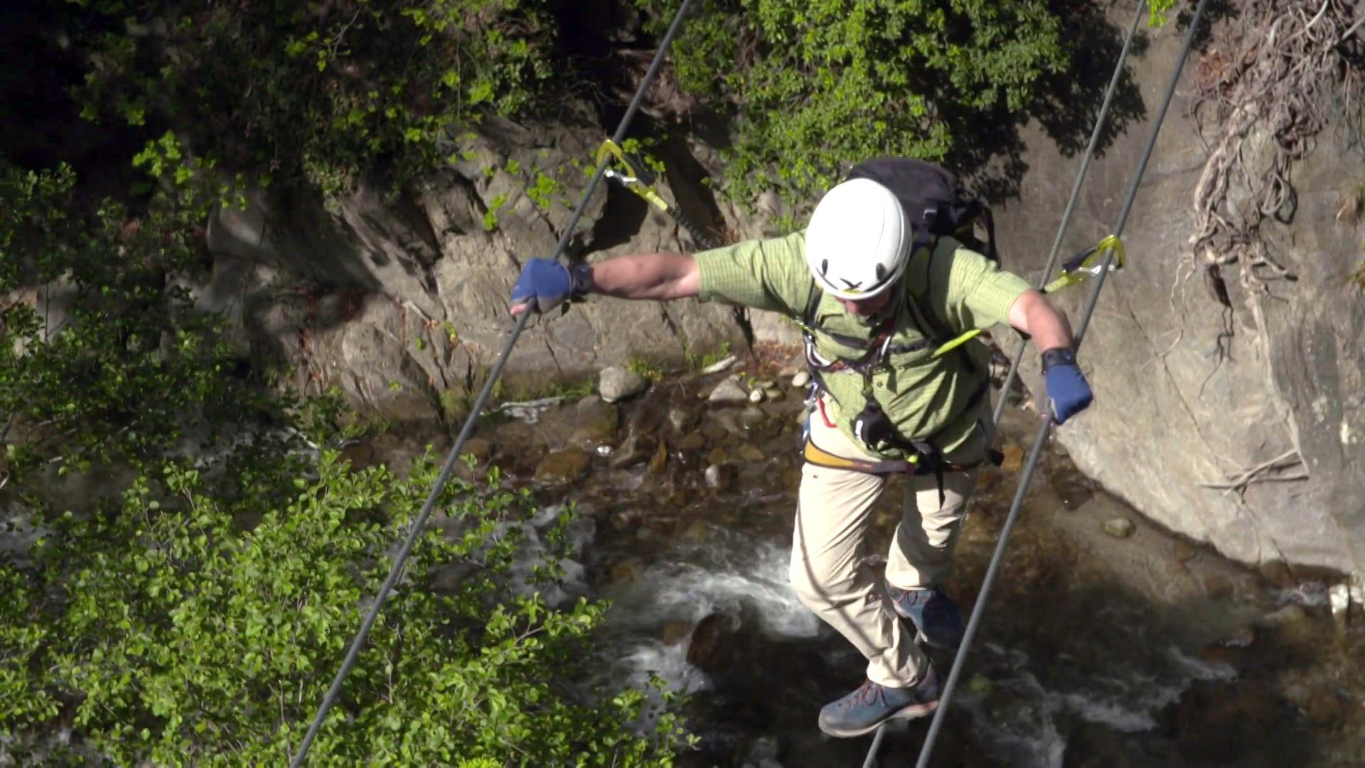 Klettersteig Vinschgau : Sehn sucht berge hoachwool klettersteig