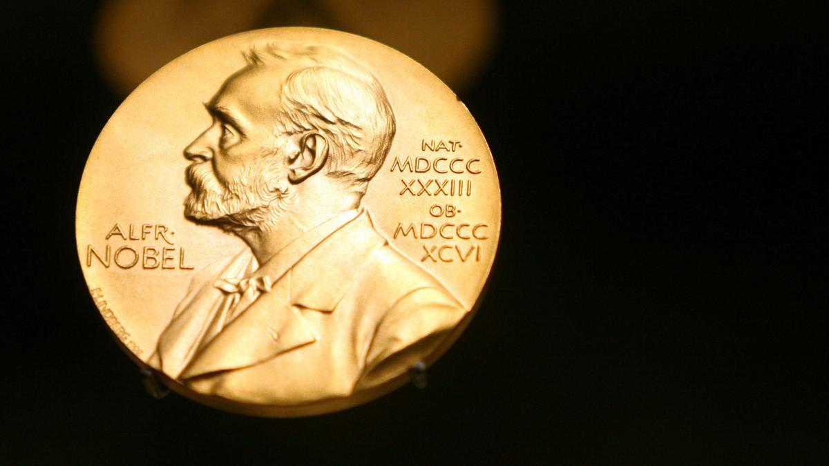 Medaille mit dem Konterfei von Alfred Nobel, dem Stifter des höchsten Wissenschaftspreises.