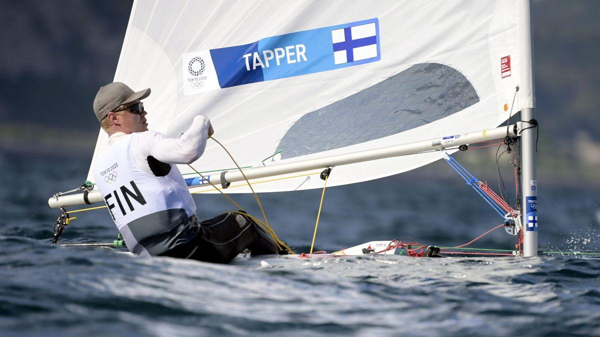 Kaarle Tapper aus Finnland liegt nach drei Rennen in Führung