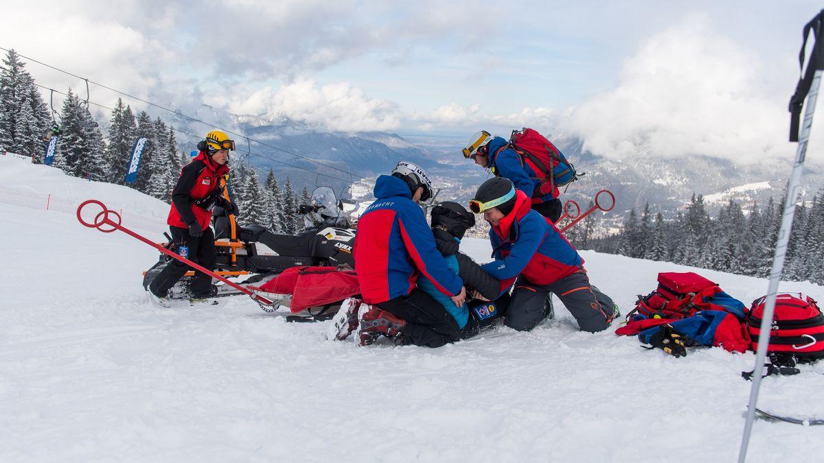 Die Bergwacht in Garmisch-Partenkirchen (Symbolbild)