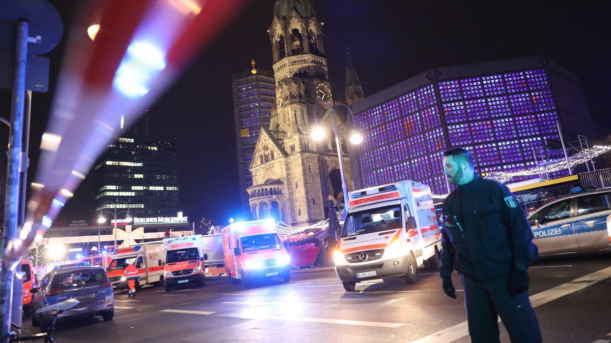 Nach dem Attentat am Berliner Breitscheidplatz (Archivbild 20.12.2016)