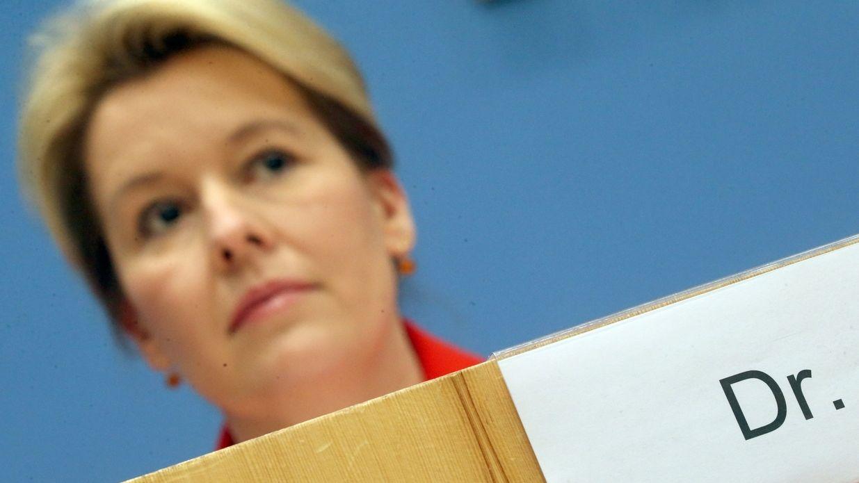 Plagiatsvorwürfe gegen Franziska Giffey