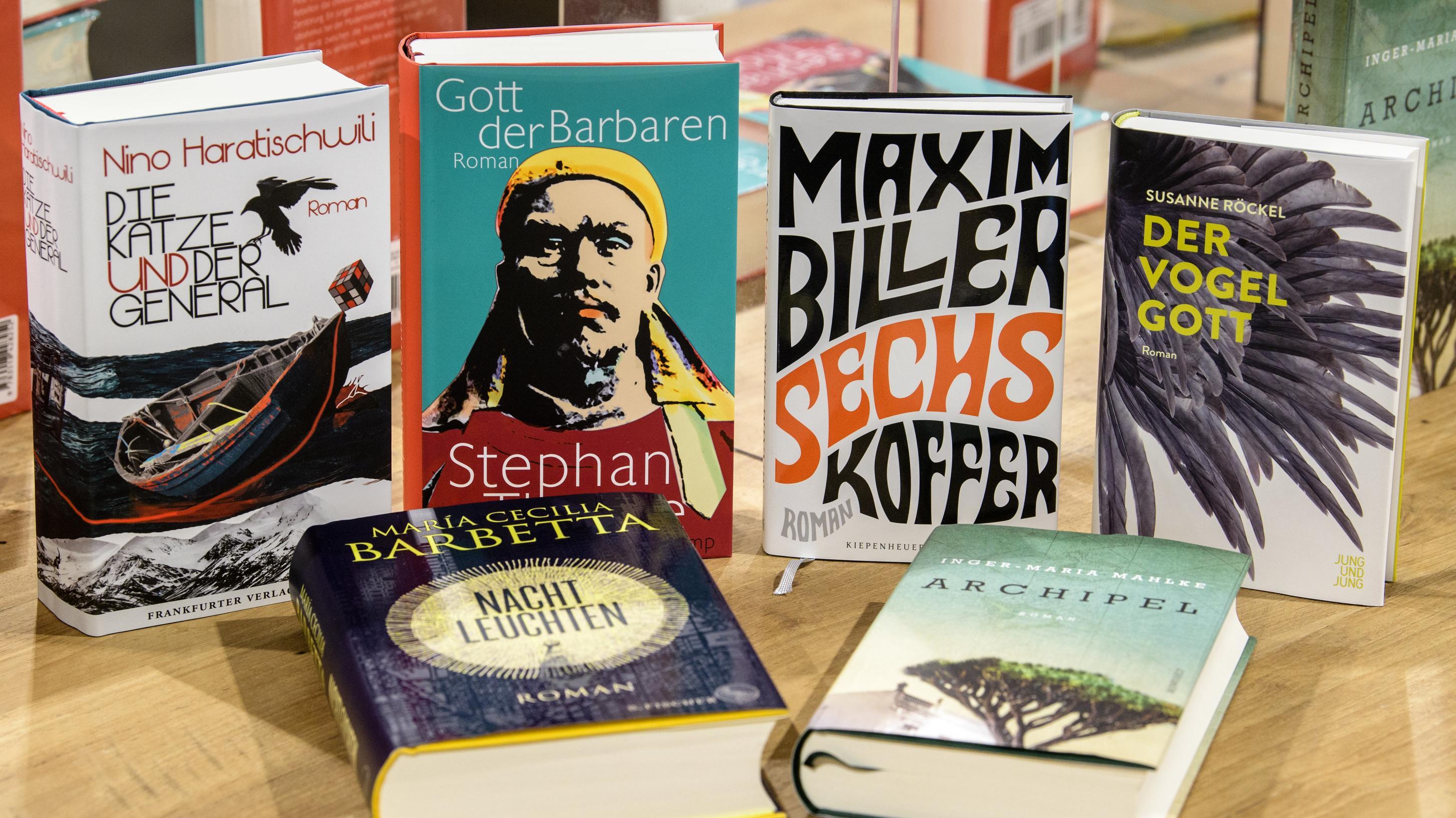 Shortlist Bücher Deutscher Buchpreis 2018