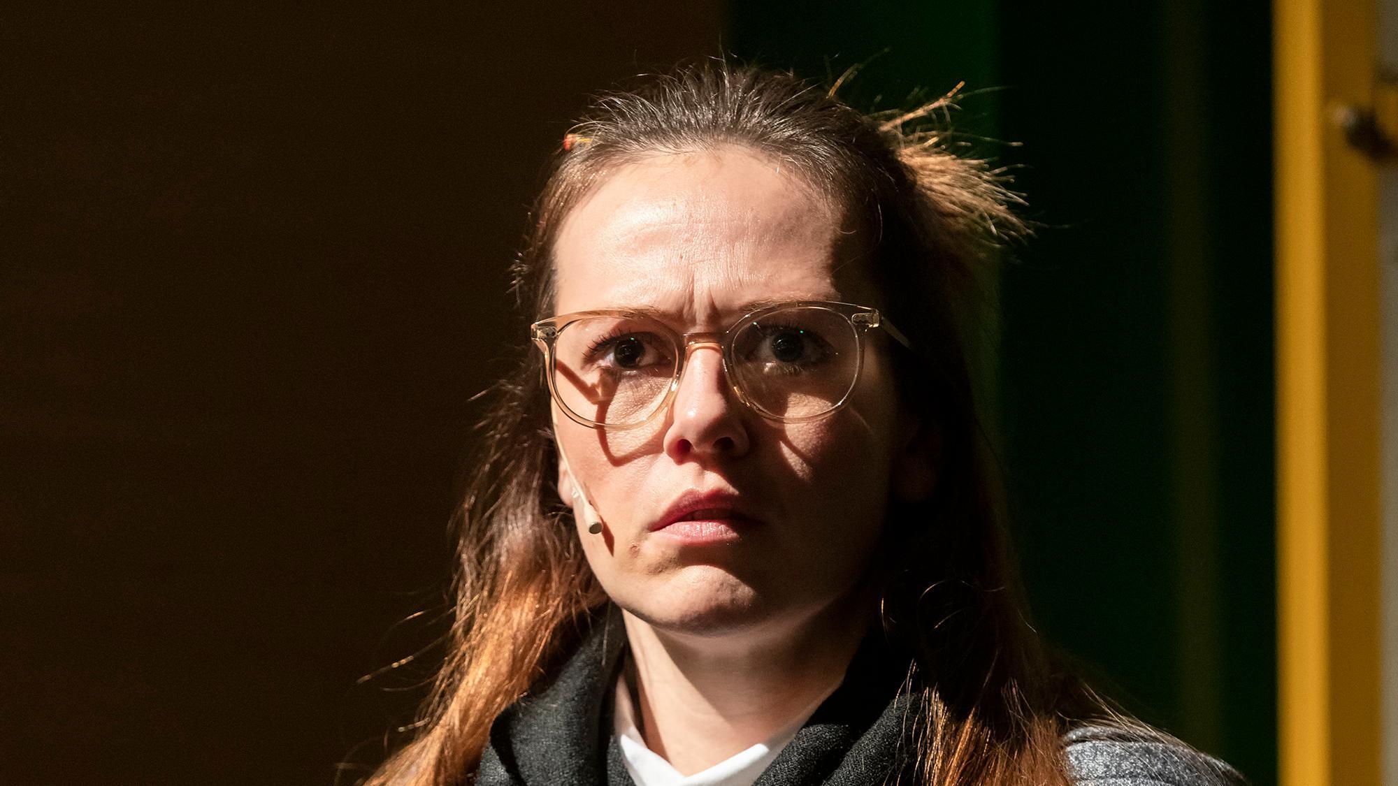 "David Mamets ""Oleanna"" am Staatstheater Augsburg"