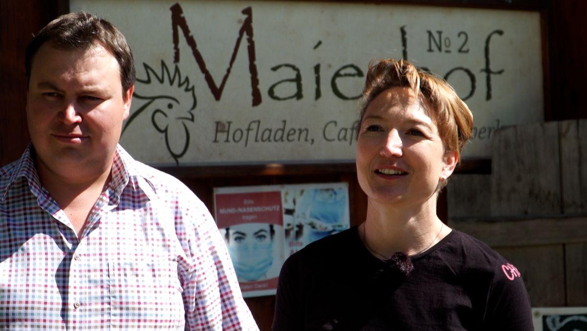 Familie Dobler vom Maierhof