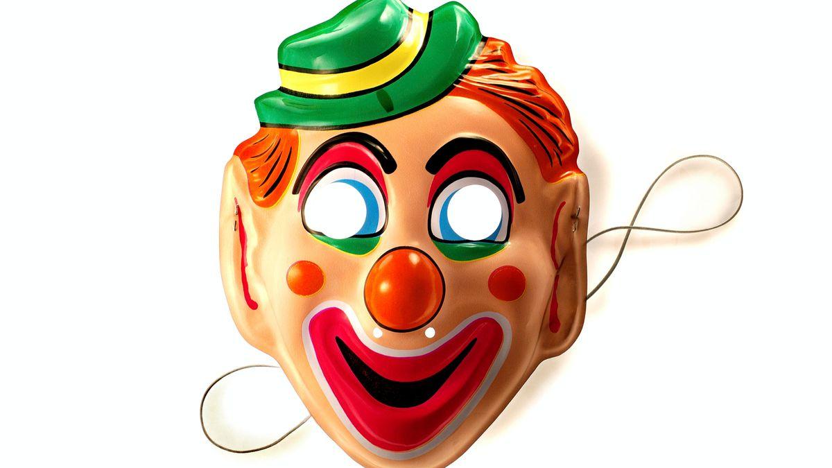 Clownsmaske (Symbolbild)